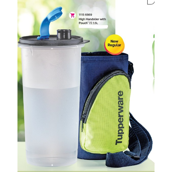 ⭐READY STOCK⭐TUPPERWARE HIGH HANDOLIER WITH POUCH 1.5L (1 PC)