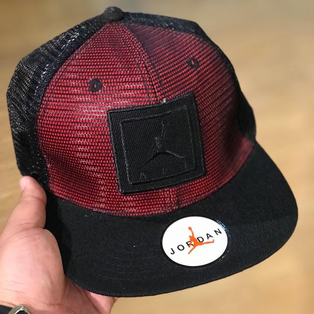 018876b3 Air Jordan Jumpman Flex Fit Full Cap | Shopee Malaysia