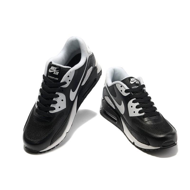 nike air running shoes, Nike air max 90 hyperfuse mens black