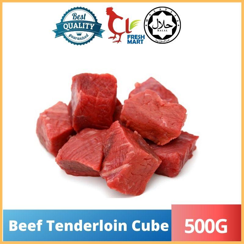 Beef Tenderloin Cube 500G