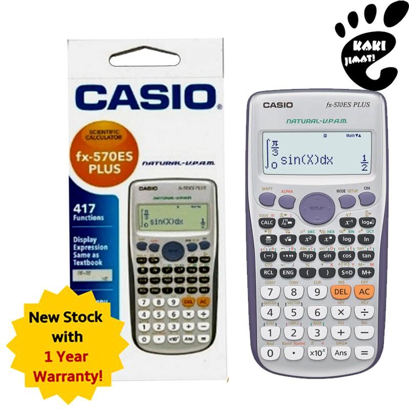 [READY STOCK] Casio Calculator FX-570ES PLUS With Warranty - Original