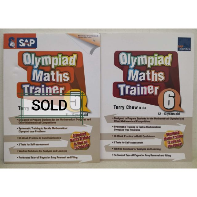 Olympiad Maths Trainer 5 & 6 by Terry Chew
