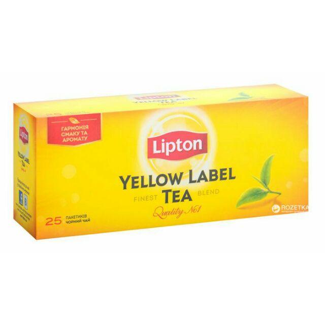 LIPTON TEA 25'S/50'S/100'S