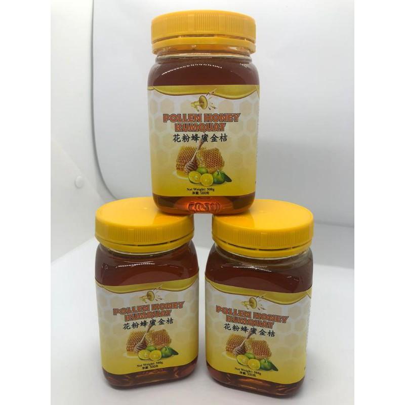 花粉蜂金桔 pollen honey kumquat