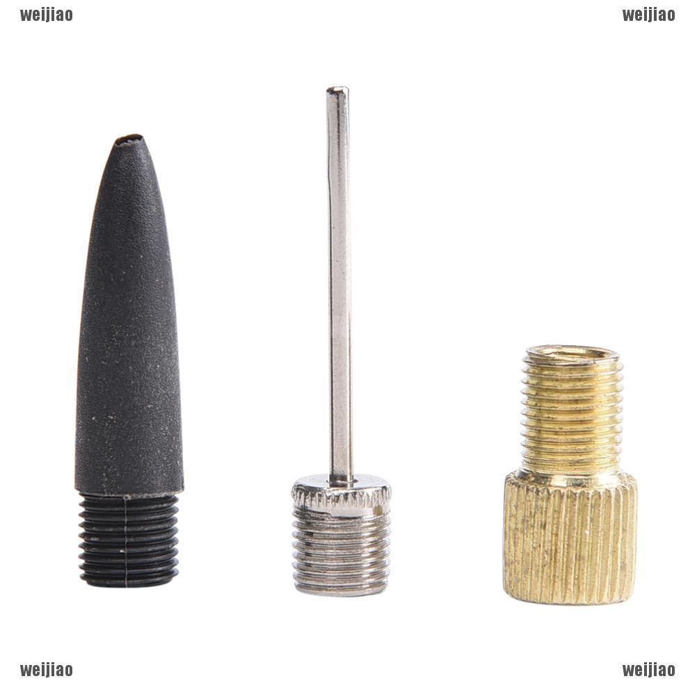 5 Sets Pump Conversion Inflating Tools Kits Valve Converter Needle Adapter