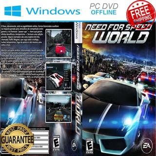 Need For Speed World - Offline DVD PC