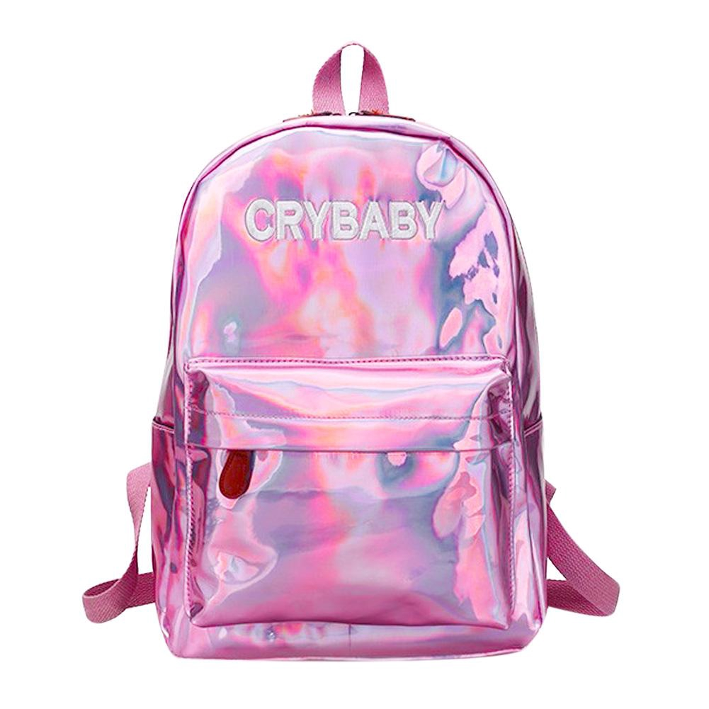 Women PVC Jelly Transparent Mini Shoulder Bag Girl Zipper Messenger Handbag #Cu3