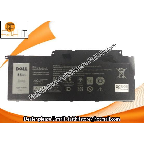 Ori Quality For Dell Inspiron 15-7000 15 15-7537 15-75 G4YJM T2T3J 062VNH  Battery