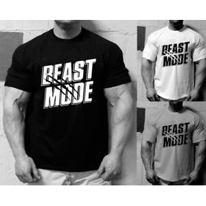 Gym Metal Bodybuilding Workout Mma T Shirt Beast Mode Clothing Weight Lifting
