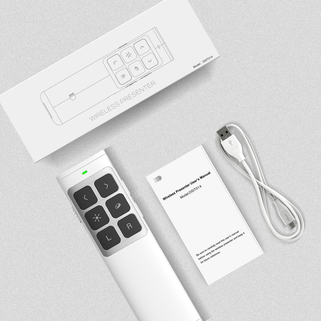 USB Wireless Remote Control Laser Pointer Power Point Lecture Presentation Pen | Shopee Malaysia