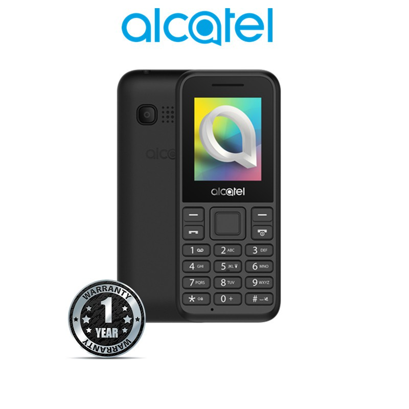 Alcatel 1006 7 5hours talk time, camera,1 8'' color display keypad feature  phone Original Alcatel 1 Year Warranty