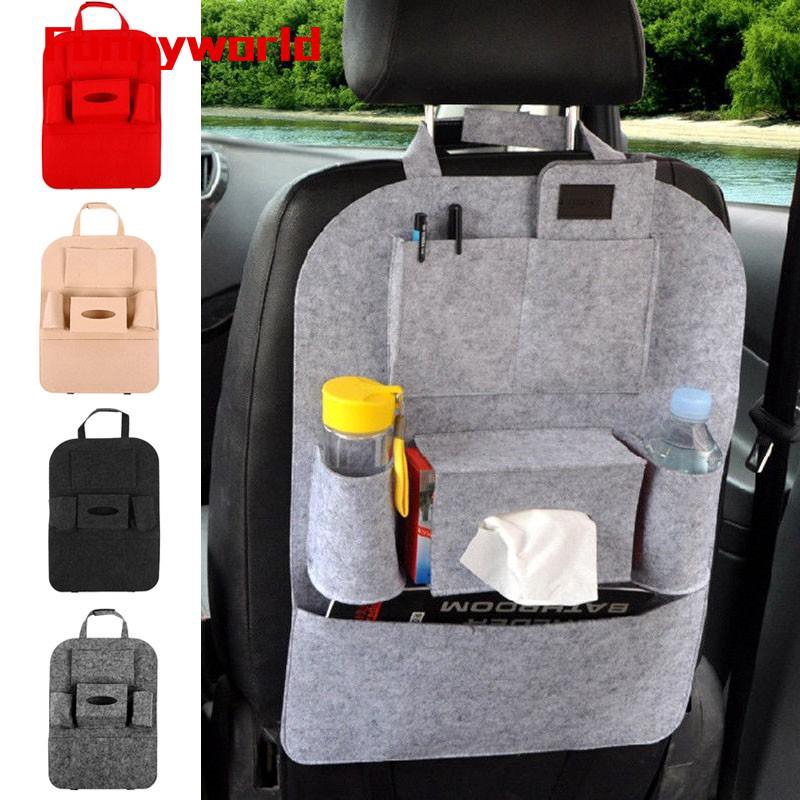 Truck Seat Organizer >> Car Truck Rear Seat Back Organizer Bag Storage Pocket Bottle Cup Holder 40 56cm