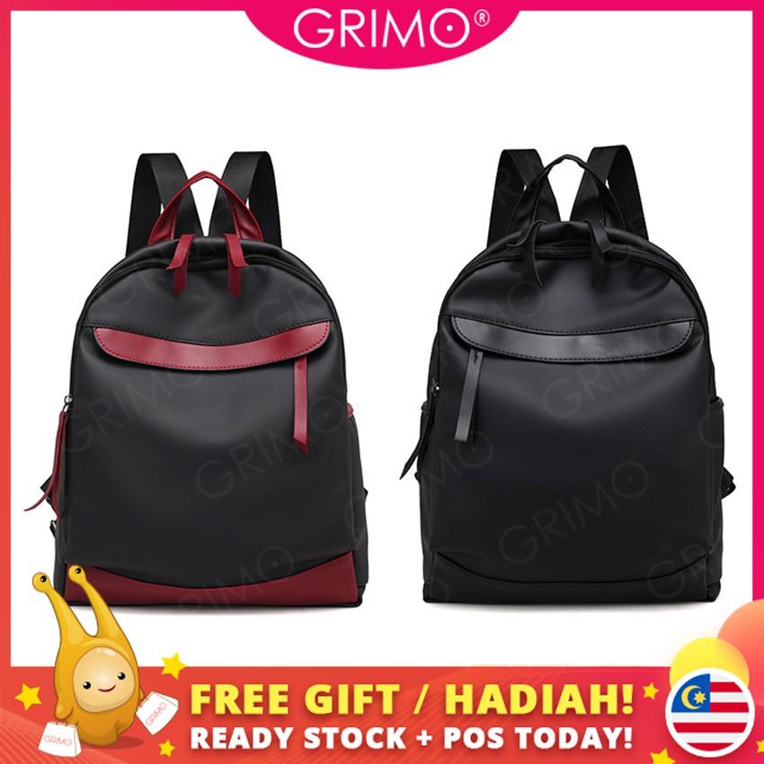 f141170afc71 READY STOCK😍GRIMO Robot War Backpack School Bags Shoulder Beg Women Travel  Bag
