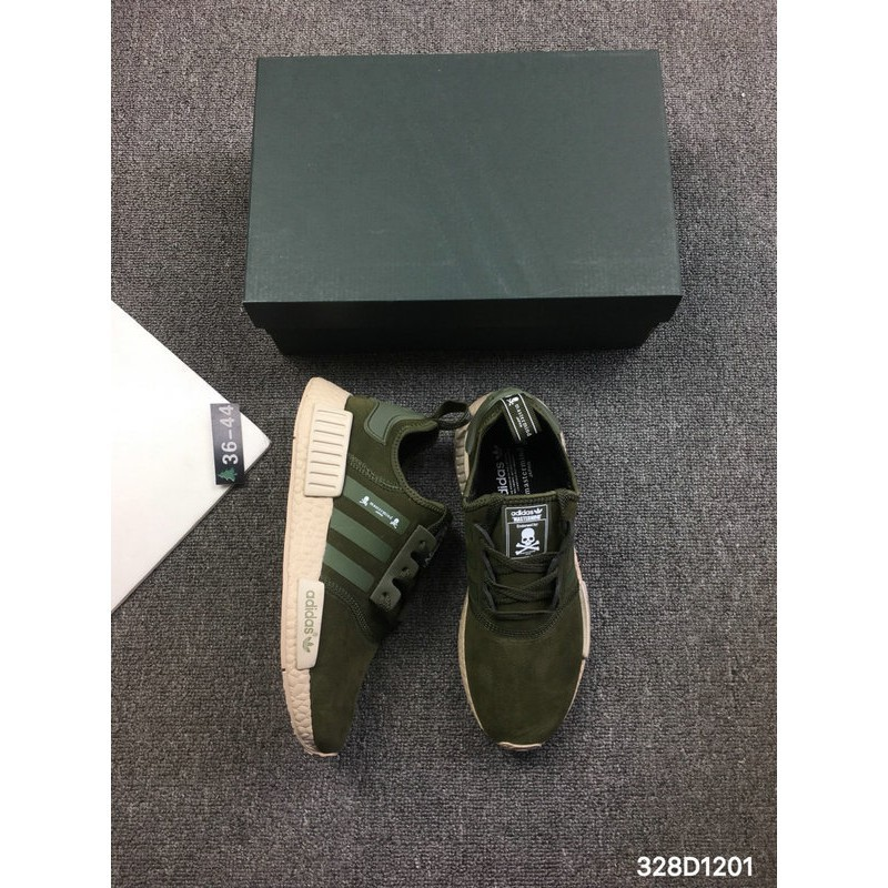 *Ready Stock Adidas NMD R1 PK NYC Men Women running shoes Size 36 44 free shippi