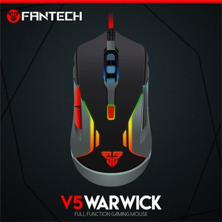 FANTECH V5 WARWICK 3200 DPI USB Optical 6 Button Full Function RGB