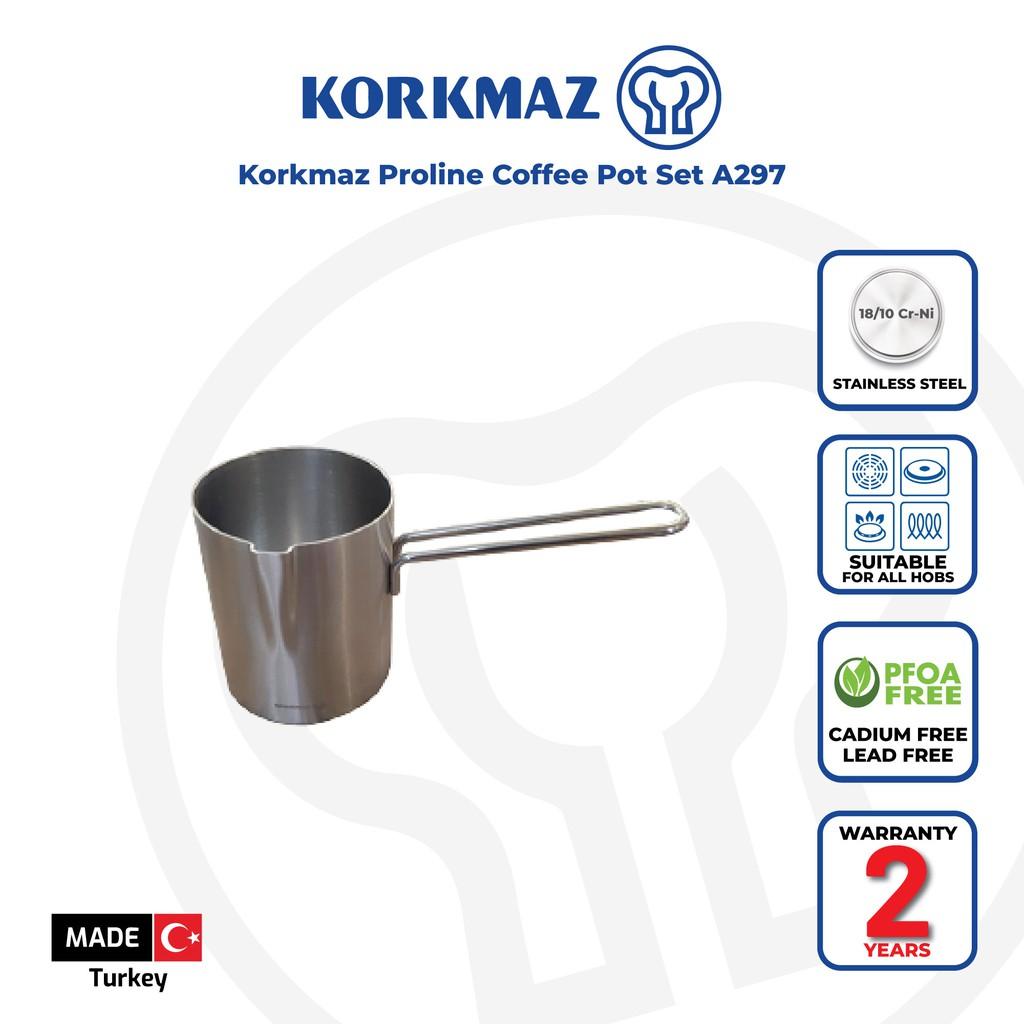Korkmaz Proline Coffee Pot Set A297