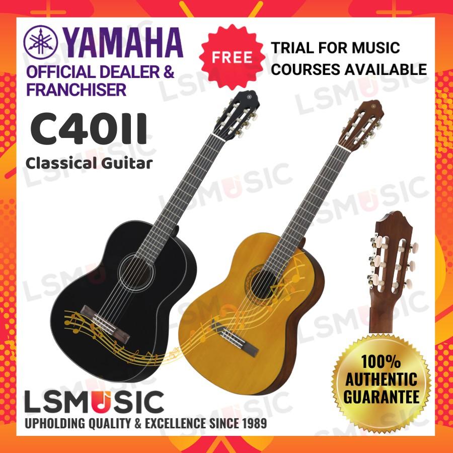 Yamaha Classical Guitar C40 accoustic guitar Music instrument(C40II / C40 II / Classical / Acoustic / Kapok ) Gitar