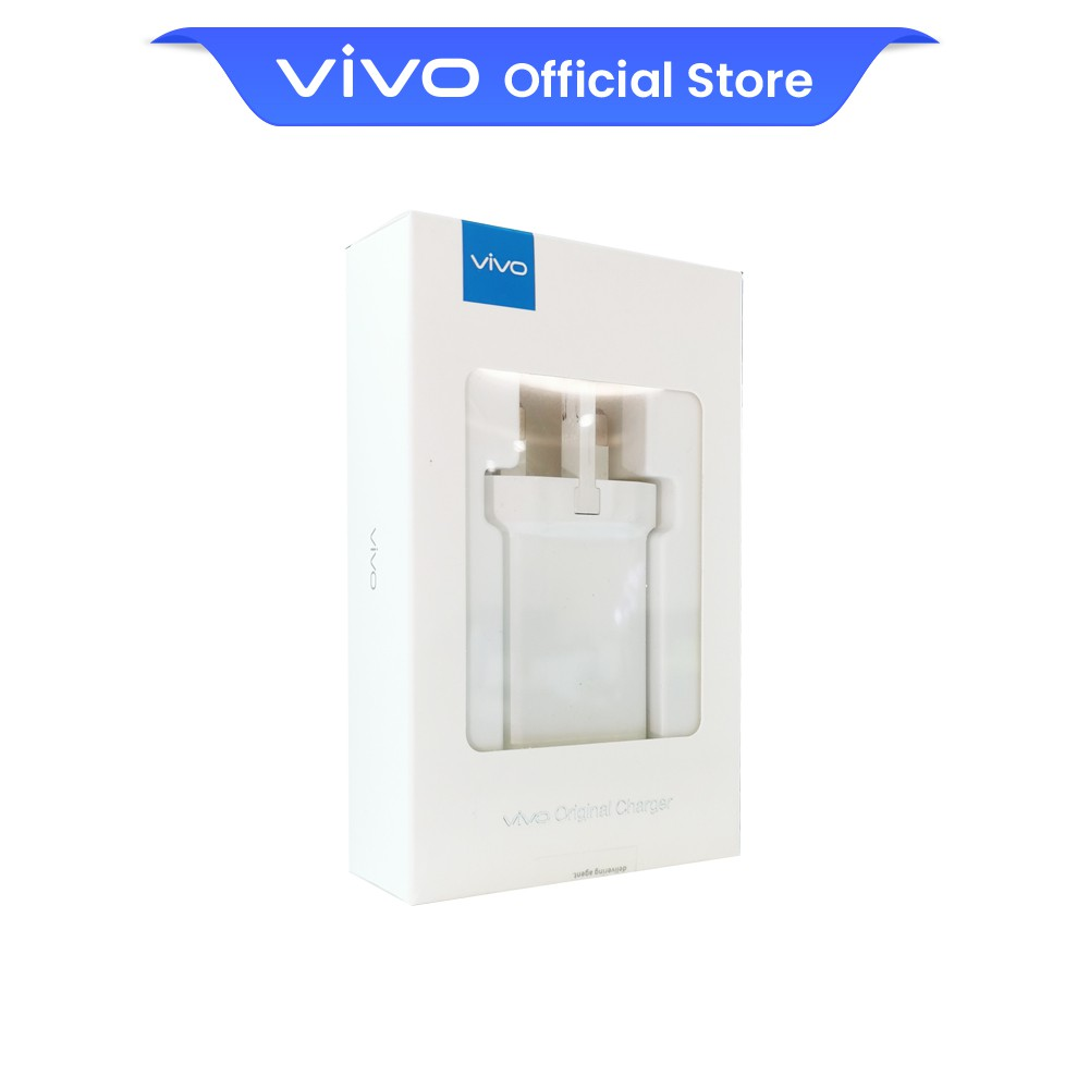 vivo 22.5W USB Fast Charger Power Adapter (UK 3-Pin) - 3 Months Limited Warranty
