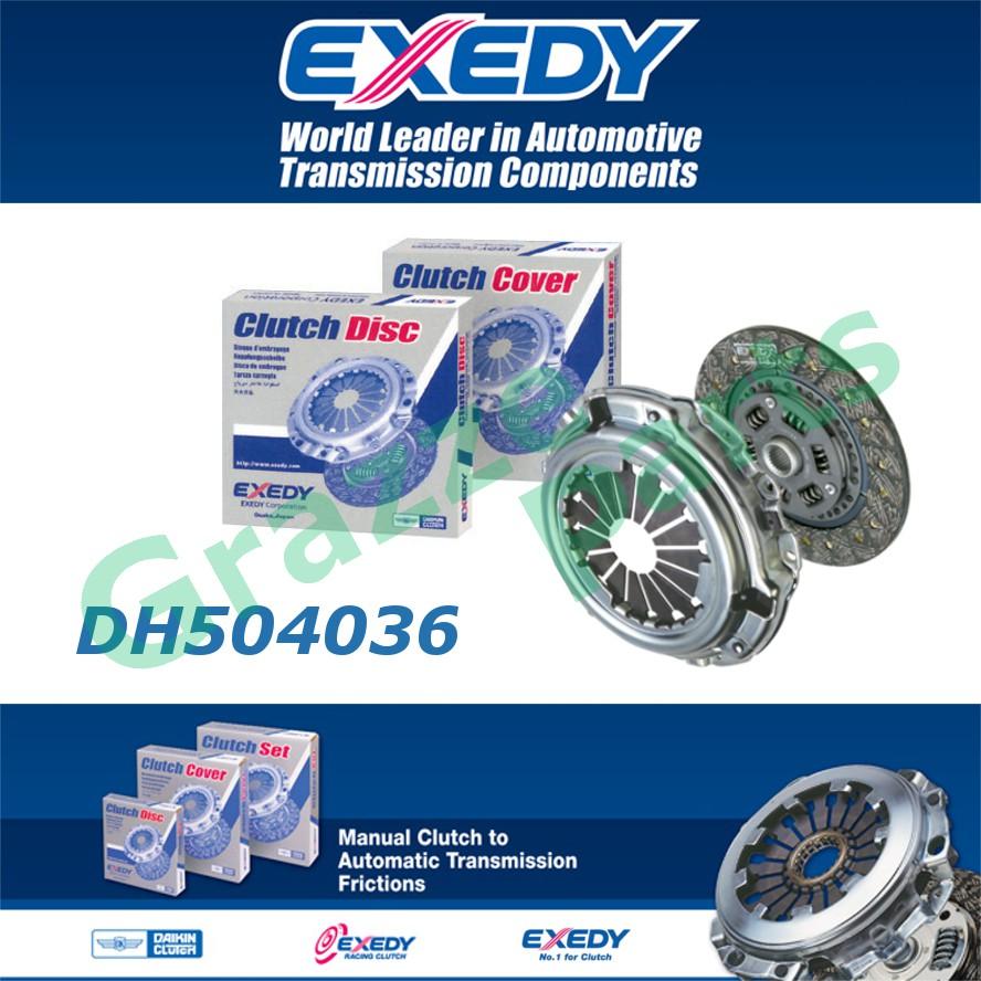 Exedy Daikin Clutch Kit Set for Perodua Kelisa Kenari Myvi Viva 1.0 - 6.75inch / 170mm