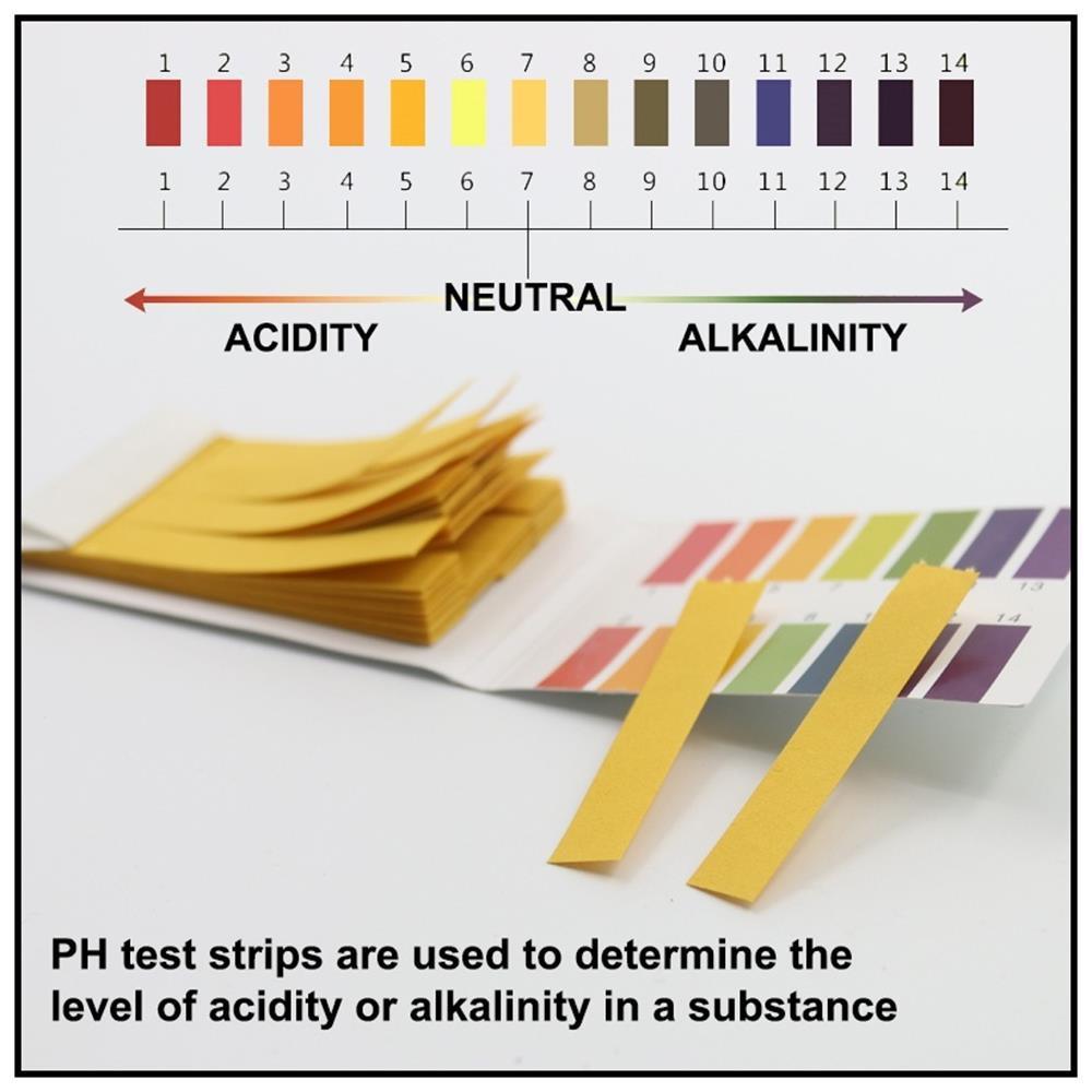 3*80 Strips 240 Strips Acid Water Alkaline 1-14 PH Testing Paper Litmus