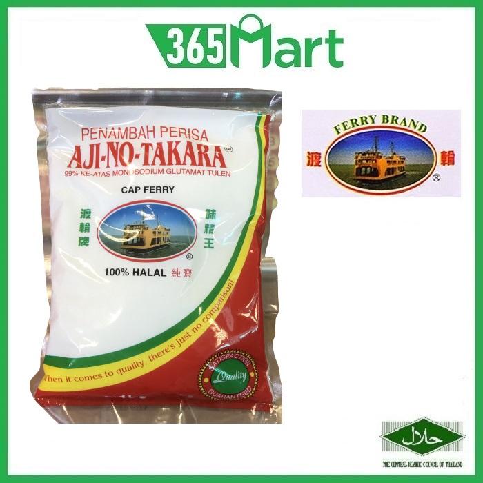 FERRY BRAND Ajino-Takara MSG HALAL Penambah Perisa 味精 1kg Super Seasoning 99% Purity Monosodium Glutamate by 365mart