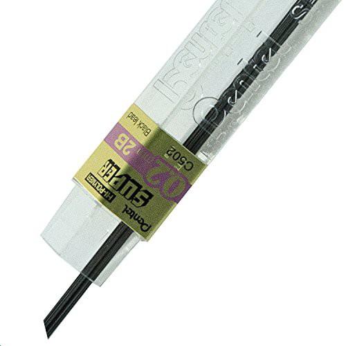 Super Hi-Polymer C502-B 0.2 mm Grade B Refill Lead Pack of 12