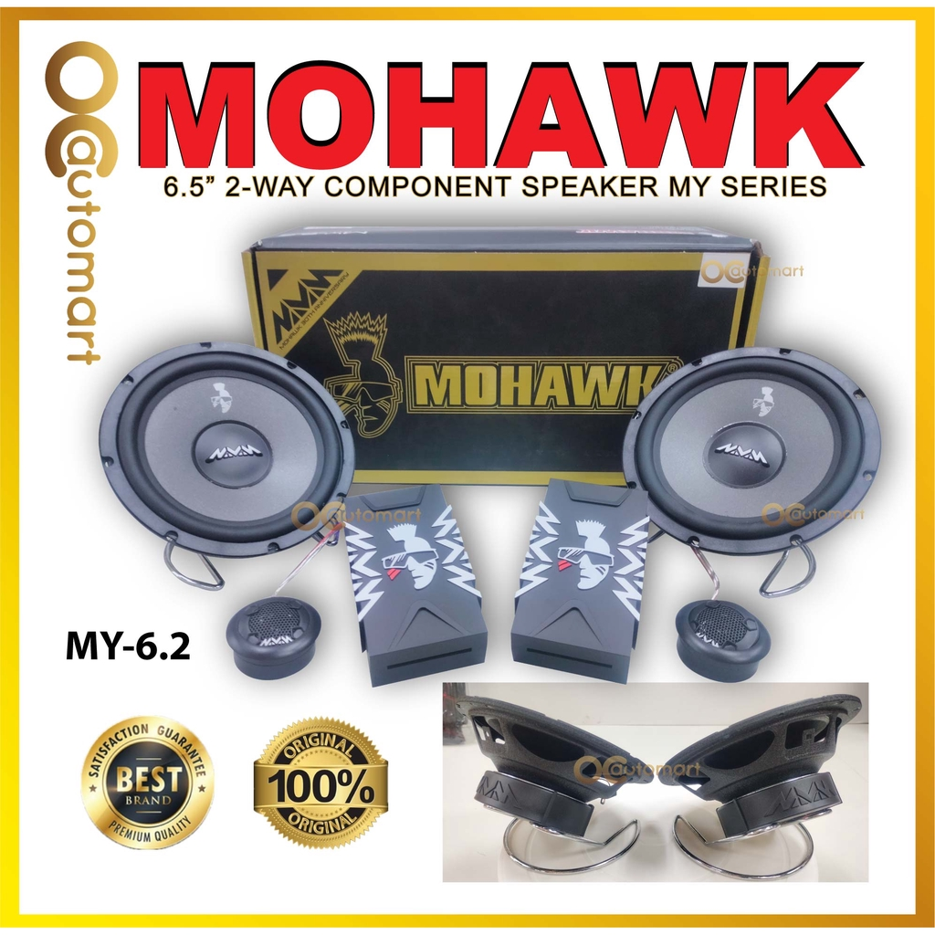 Mohawk 6.5 inch Component Set Speaker MY Series (MY-6.2) Mohawk 30th Years Anniversary