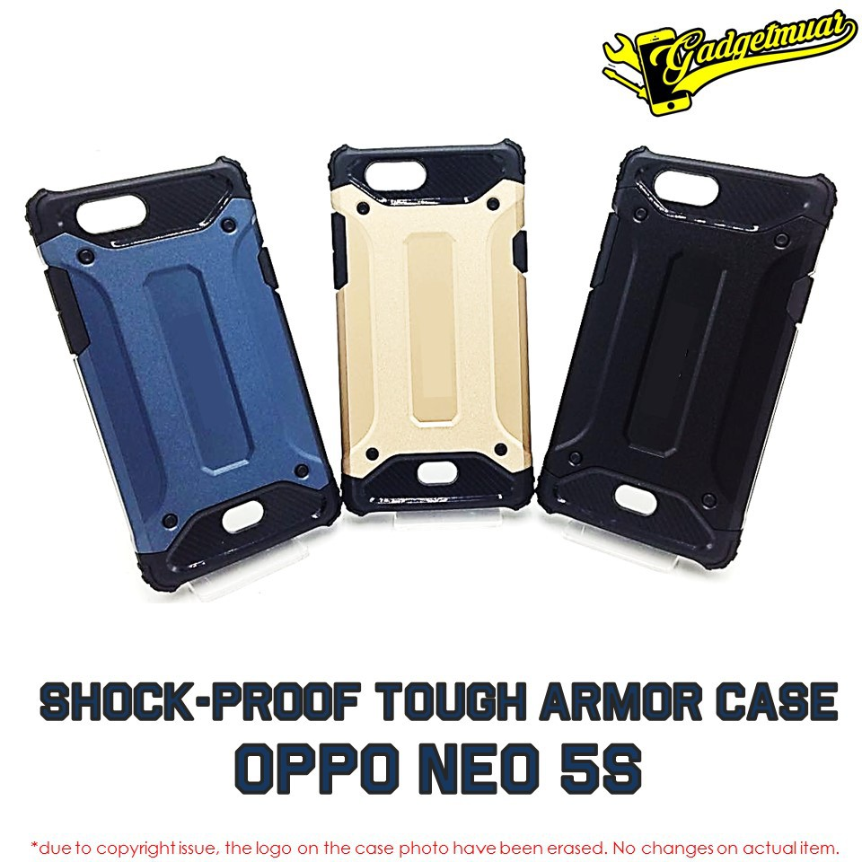 [Ready Stock] SHOCKPROOF Heavy Duty Tough Armor Tech Hard Case For OPPO NEO 5S | Shopee Malaysia