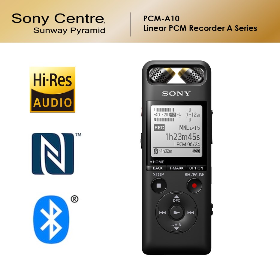 Sony PCM-A10 Linear PCM Recorder A Series