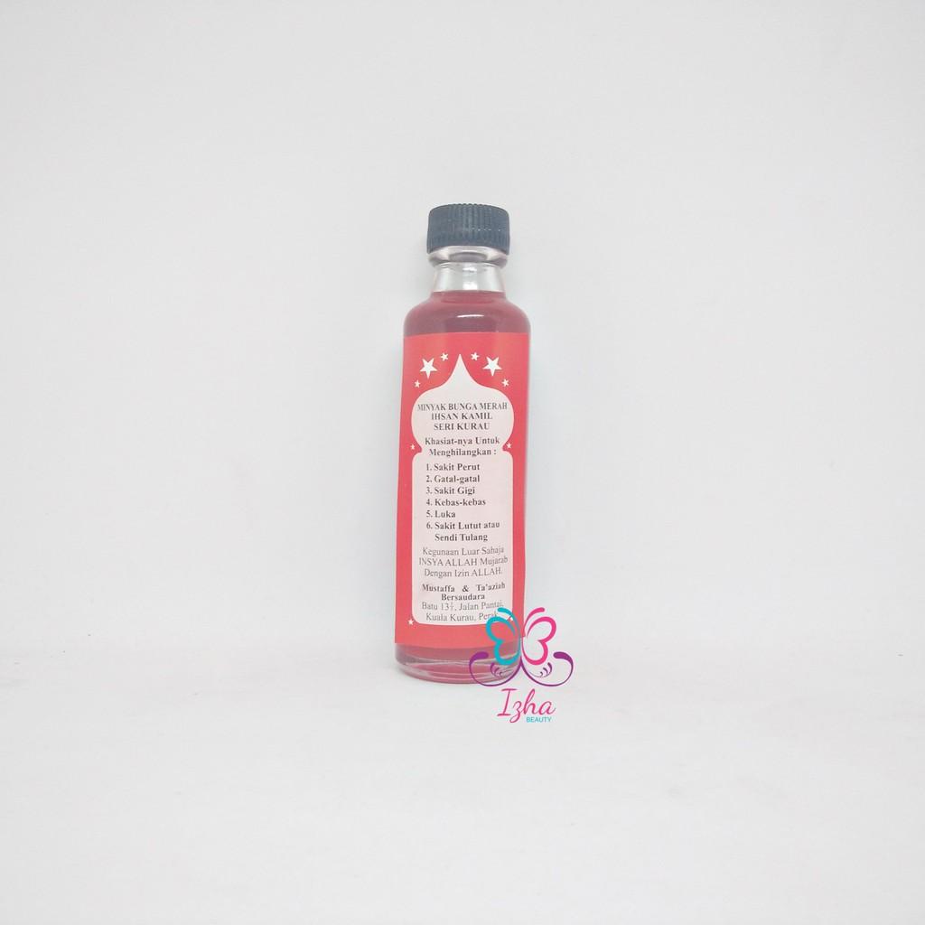 Minyak Bunga Merah Ihsan Kamil Seri Kurau