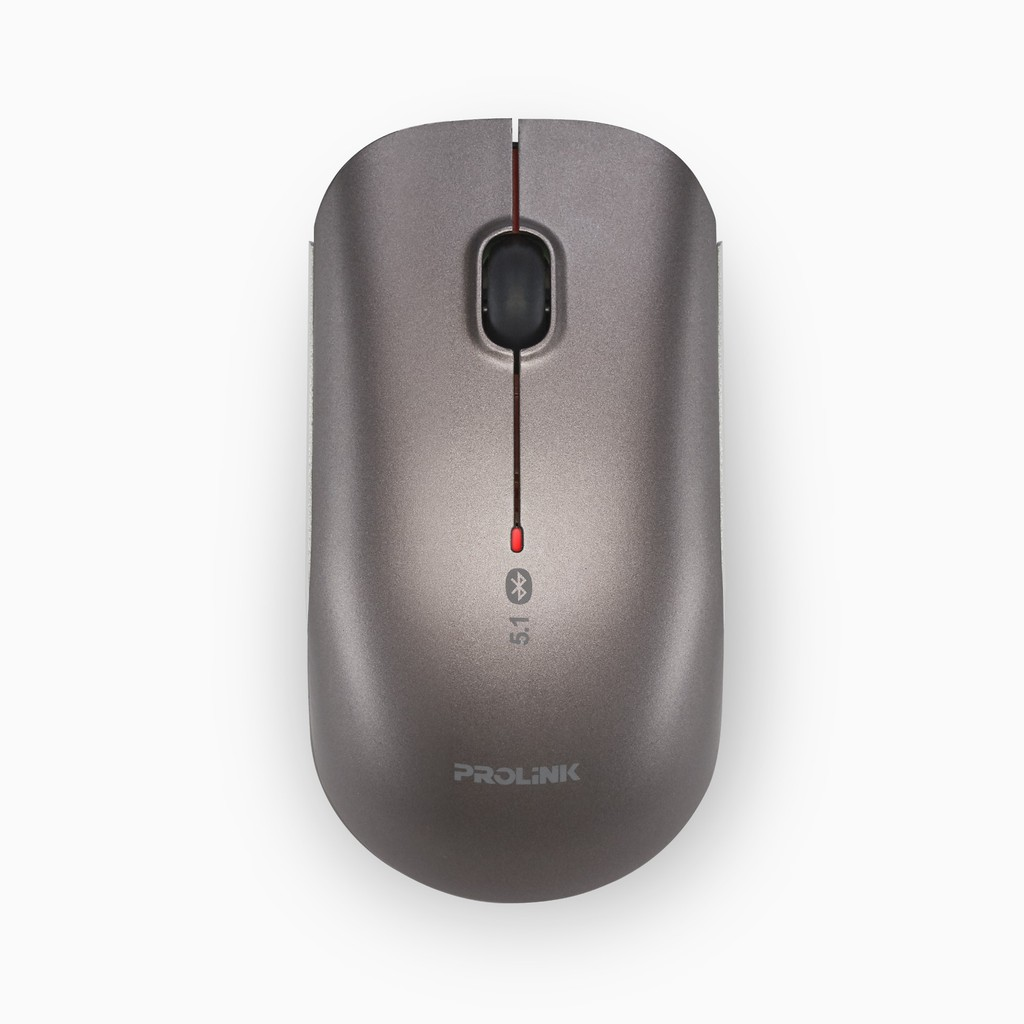 PROLiNK Bluetooth 5.1 Silent Mouse Aluminium Housing 1600dpi On/Off Button PMB8001