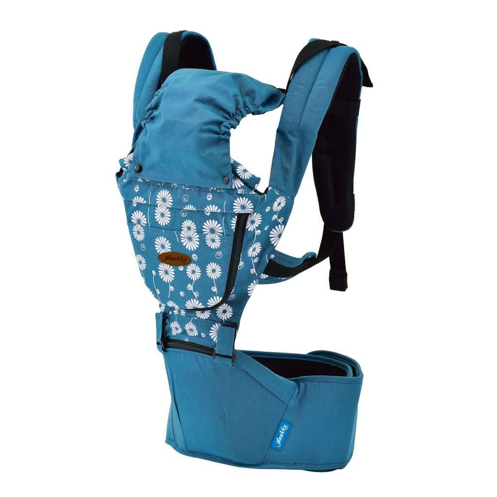 Anakku Flowery Hip Seat Carrier