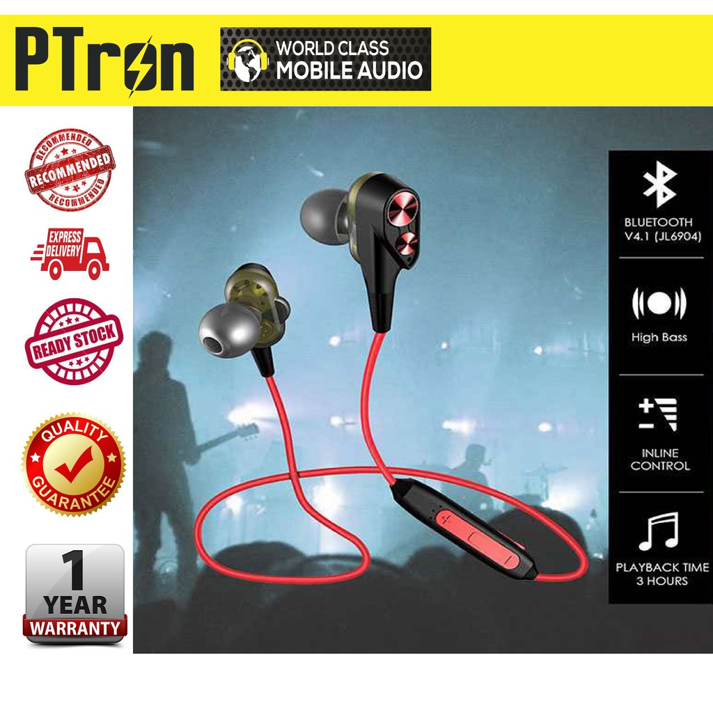 PTron BT Boom, 4D Wireless Earphones