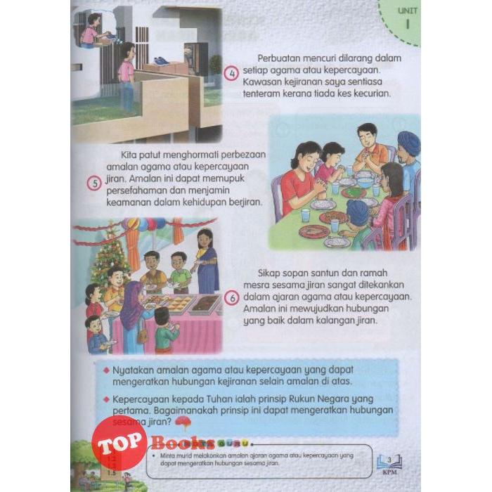 Topbooks Dbp Buku Teks Kssr Pendidikan Moral Sekolah Kebangsaan Tahun 4 Shopee Malaysia