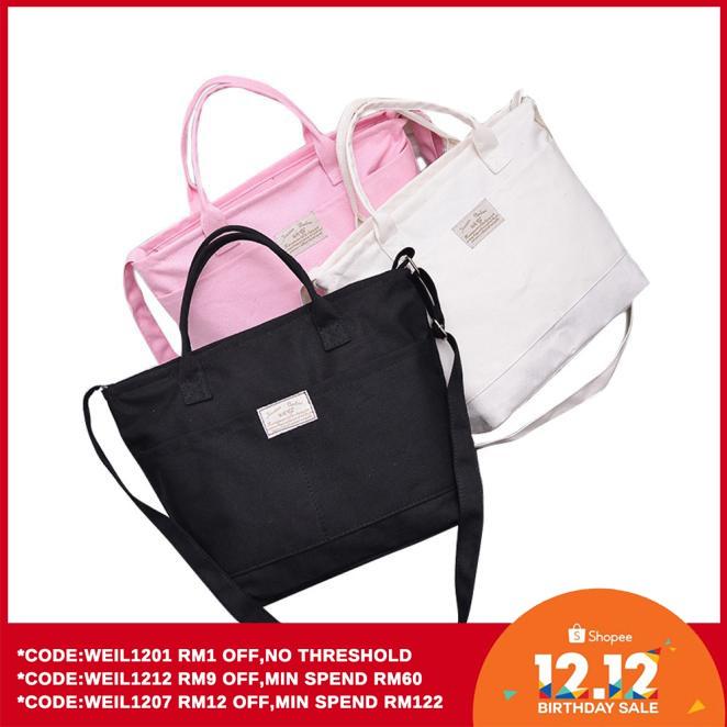 accee8320 ProductImage. ProductImage. Fashion Women Casual Simple Canvas Handbag  Cross Body Shoulder Messenger Bag