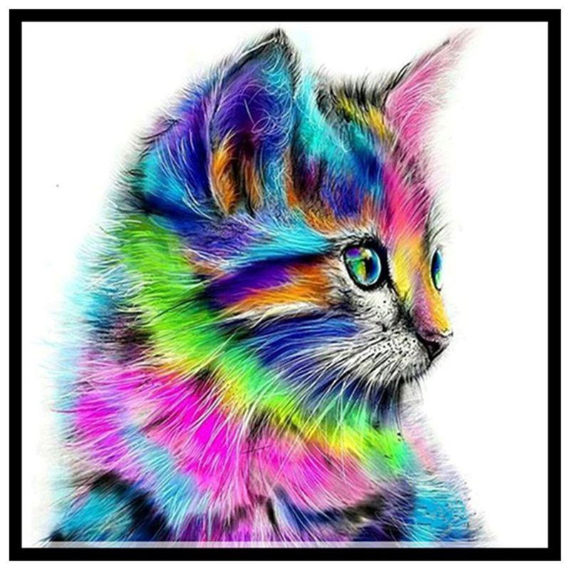 101 Gambar Abstrak Cat Air