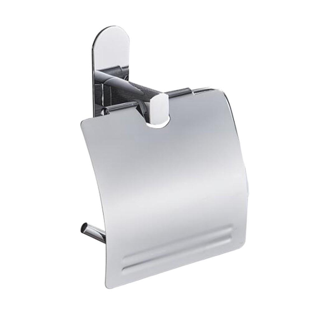 Bathroom Toilet Paper Holder Roll Tissue Box Napkin Storage Lavatory Sucker