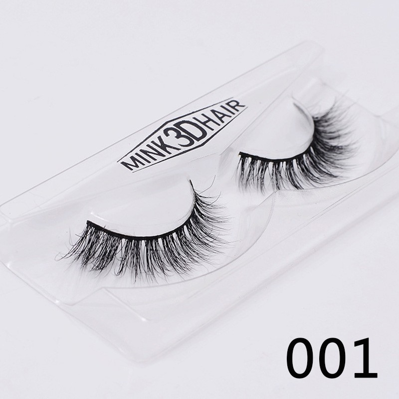 cd7cea3ed77 ProductImage. ProductImage. Beauty Fur 100% Lashes Cross Makeup False  Natural Thick Messy Eye 3d Fake Mink