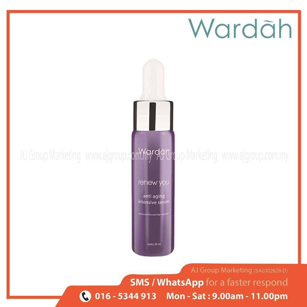 Wardah Renew You Anti Aging Day Cream 30g Shopee Malaysia Night 30 G