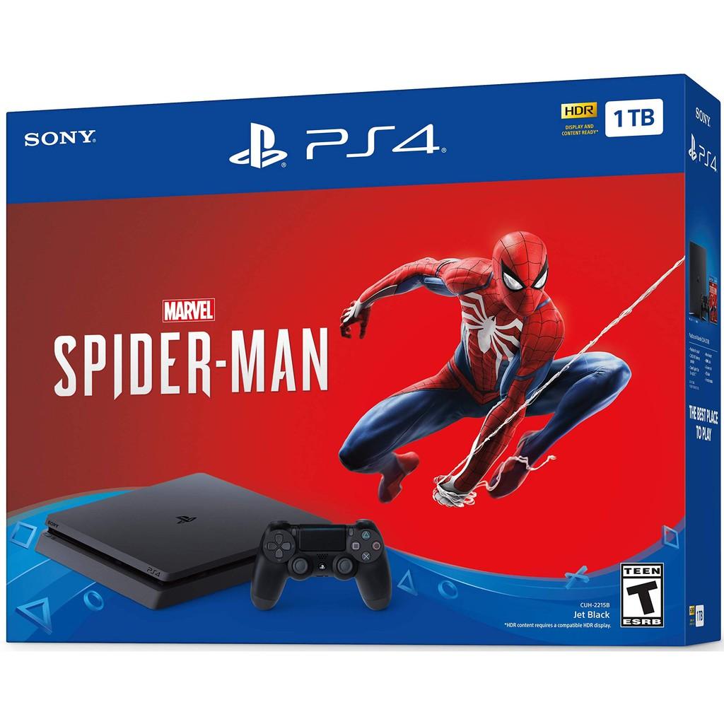 Sony Playstation 4 1TB Spiderman Bundle