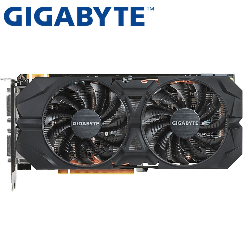 GIGABYTE Graphics Card GTX 960 4GB 128Bit GDDR5 Video Cards for nVIDIA VGA Cards Geforce GTX960 Hdmi Dvi game Used