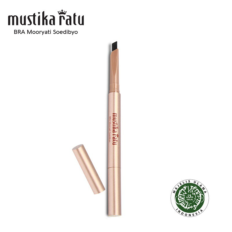 Mustika Ratu Beauty Queen Quick & Easy Eye Brow - Black