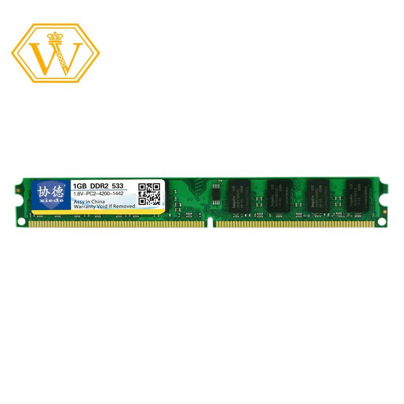 ~In Stock~Desktop Computer Memory Ram Module Ddr2 533 Pc2-4200 240Pin Dimm 533Mhz For Intel/Amd