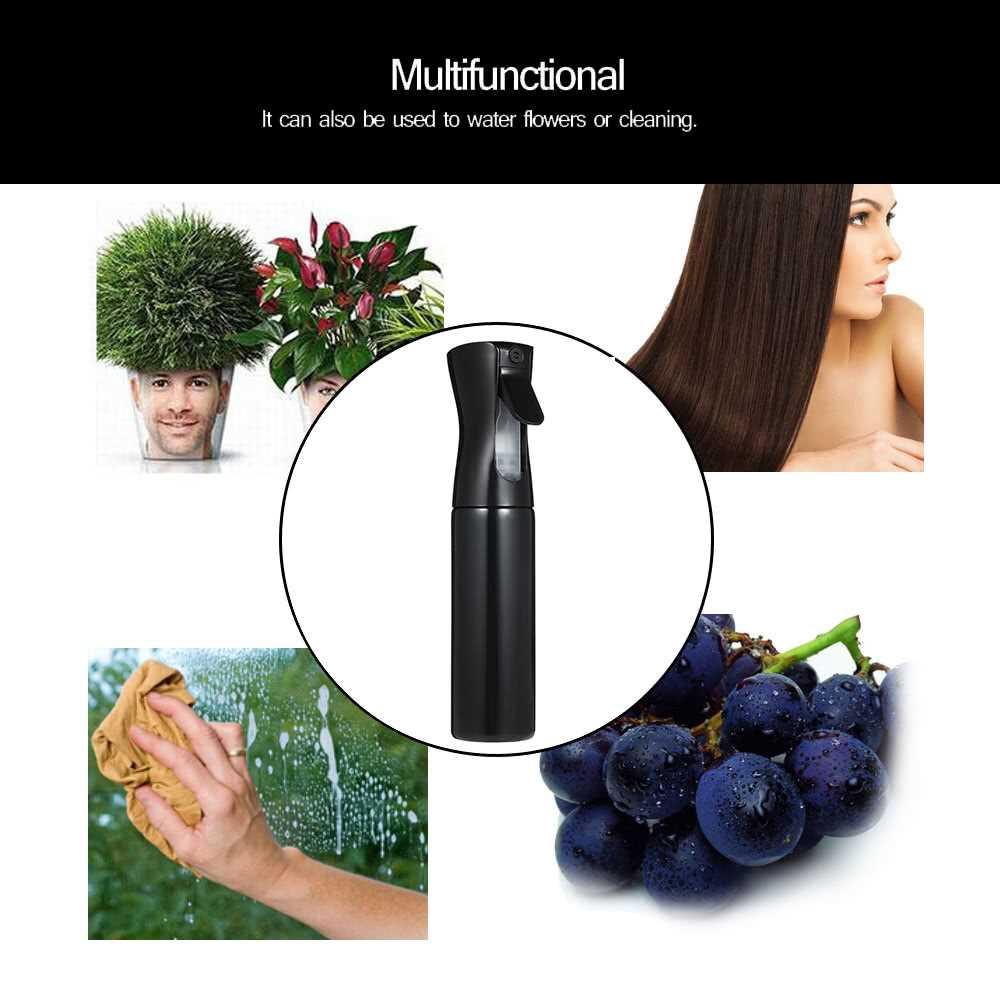300ml Spray Bottle Salon Hairdressing Sprayer Barber Hairstyling Flower Planting Tools Empty Water Sprayer (black)