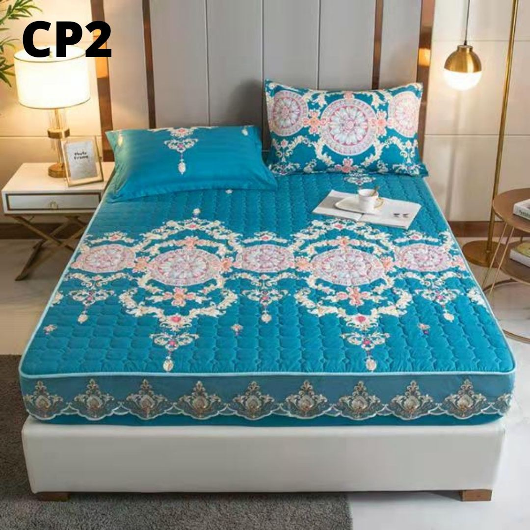 MALAYSIA: ETA 31.12 PREMIUM QUALITY CADAR VIRAL ANTI KEDUT Fitted Bedsheet FREE 2PCS PILLOW CASE Ma
