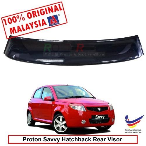 Proton Savvy Hatchback 2005-2010 AG Rear Wing Spoiler Visor (Big 20cm)