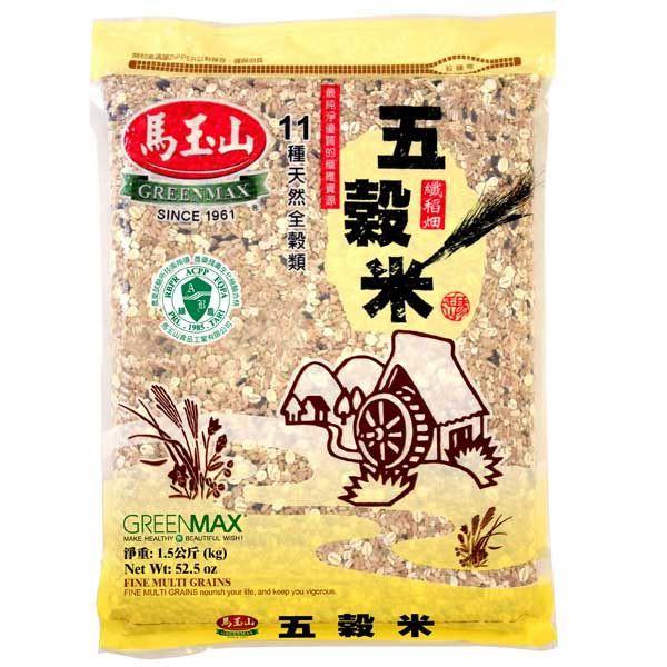 Greenmax Fine Multi Grains (1.5kg) 马玉山五谷米(1.5 kg)