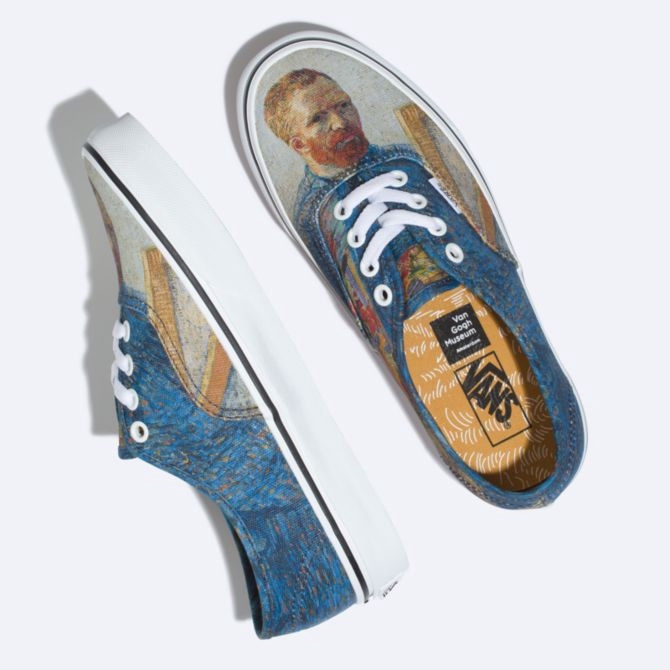 Vans x Vincent Van Gogh Museum Authentic Slip On SK8 Hi Old