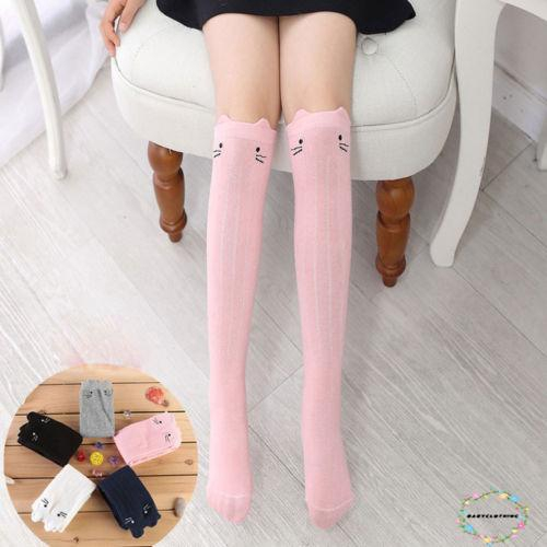 Fashion Baby Infant Kid Toddlers Lace Girls Knee High Socks Tights Leg Stockings
