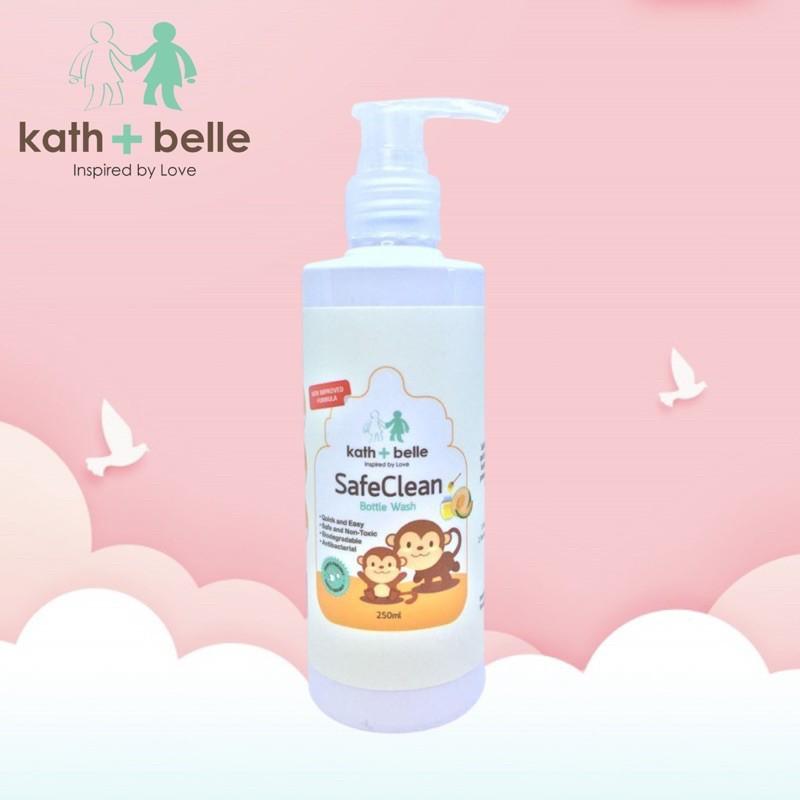 Kath + Belle Safe Clean Bottle Wash 250ml